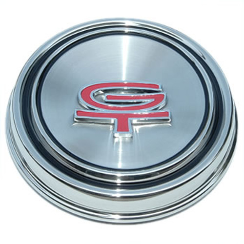 New 1968 1969 GT-Style Mustang Center Cap Hub Cap for 12 Slot Wheel Vintage GT GT/CS