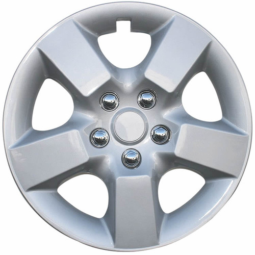 2008 2009 2010 2011 2012 2013 2014 2015 Nissan Rogue Hubcap 16 inch Replica Silver Finish Wheel Cover