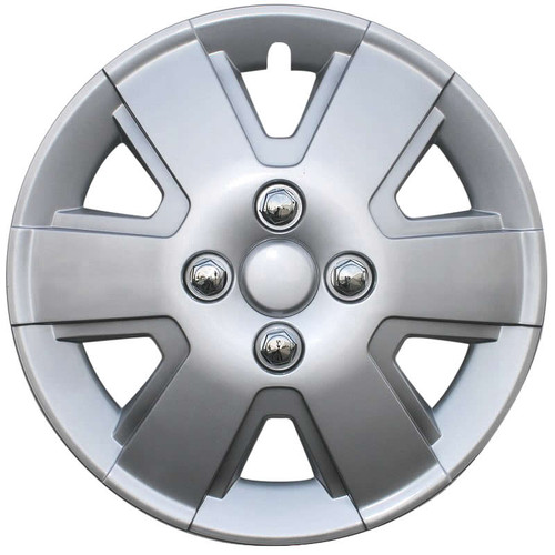 New 2006, 2007, 2008, 2009, 2010, 2011 Ford Focus Wheel Cover Silver Replica 15 inch Focus Hubcap.