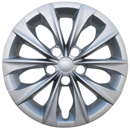 2015 2016 2017 Toyota Camry Hubcaps 16 inch Silver Finish Replica Wheel Covers