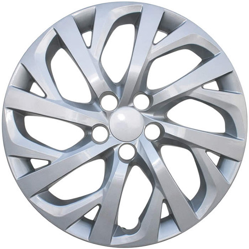 2017 2018 Toyota Corolla Hubcap Silver Finish Replacement Wheel Cover
