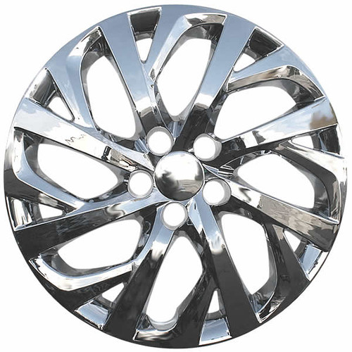 Wheel Cover Modified, 2017 2018 Toyota Corolla Wheel Covers 16 Inch Chrome Finish Hubcap, Wheel Cover Modified