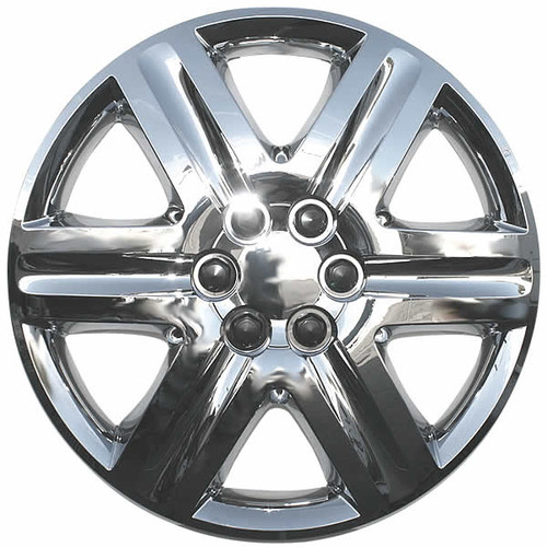 Beautiful Chrome Finish 18 inch Hubcaps Replacement Wheel Covers