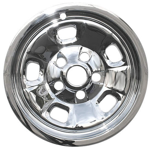 New Chrome 2013-2018 Dodge Ram 1500 Wheel Skin Covers 17 inch Hubcaps