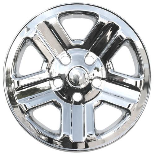 2007-2018 Jeep Wrangler Wheel Skin Cover Chrome 16 inch Hubcap