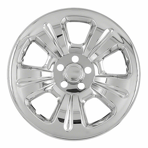 2003-2007 Subaru Forester Chrome Wheel Skin Cover 17 inch Hubcap