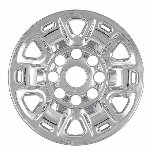 2011-2019 Nissan NV Cargo Van Wheel Cover Skins Chrome 17 inch Wheel Simulator