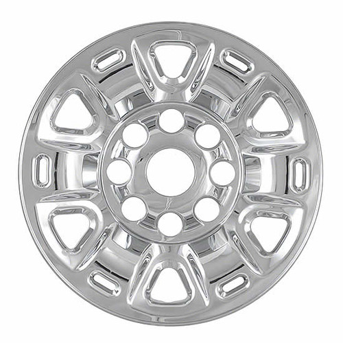2011-2019 Nissan NV Cargo Van Wheel Cover Skins Chrome 17 inch Wheel Simulator