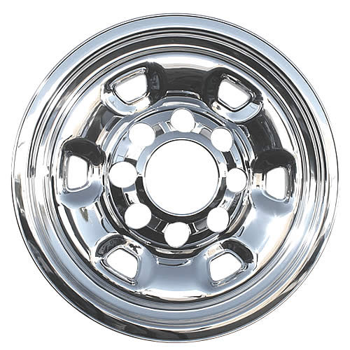 2014-2018 Dodge RAM 2500 Truck Wheel Skin Cover Chrome for 17 inch 8 Lug Wheel