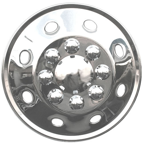 16.5 inch Motorhome Hub Caps Universal RV Wheel Cover ABS 16 1/2 inch RV Hubcap