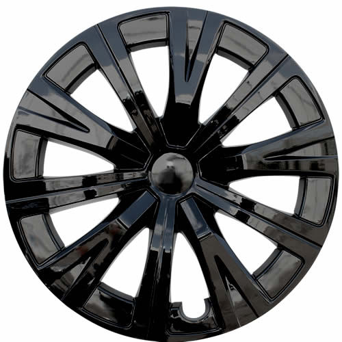 Black 2018 2019 2020 Camry Hubcaps 16 inch, 10 Spoke Replica Toyota Camry Wheel Covers