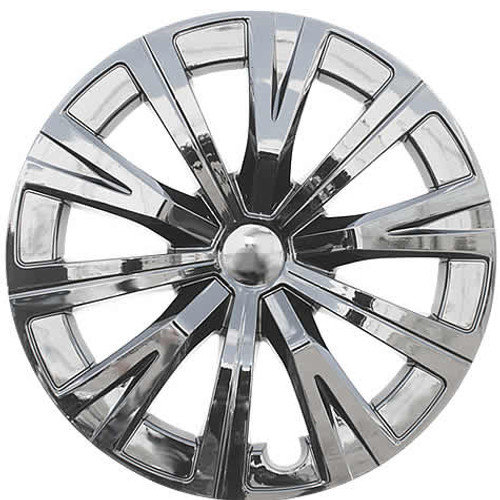 Chrome Finish 2018 2019 2020 Toyota Camry Hubcaps, 16 inch, 10-Spoke Replica Camry Wheel Cover