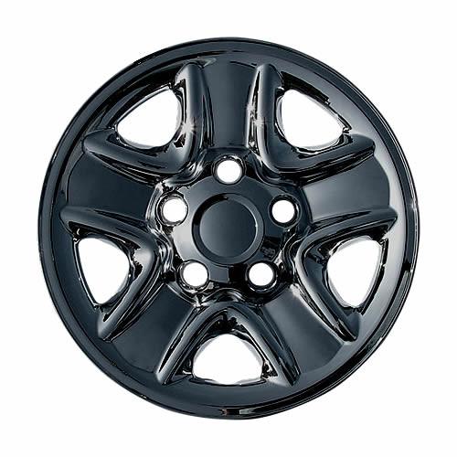 Black 07' 08' 09' 10' 11' 12' 13' 14' 15' 16' 17' 18' 19' 20' 21' Toyota Tundra Wheel Skin Wheel Cover