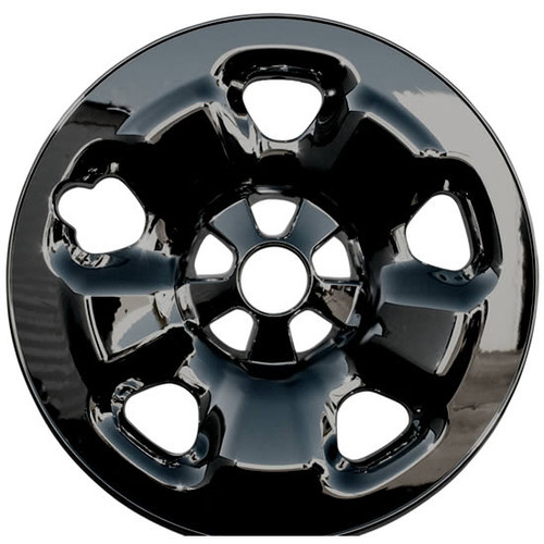 Black 2014 2015 2016 2017 2018 2019 Jeep Cherokee Wheel Skins Black Wheel Cover for Your 5 lug 5 spoke 17 inch Silver Painted Styled Steel Wheels