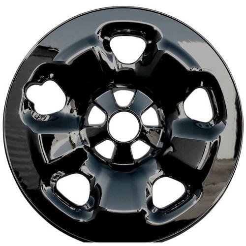 Black 2014 2015 2016 2017 2018 2019 Jeep Cherokee Wheel Skins Black Wheel Cover for Your 5 lug 5 spoke 17 inch Silver Painted Styled Steel Wheels