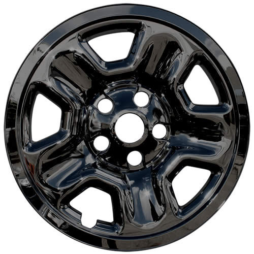 "Brand new Black 2018 2019 2020 Jeep Wrangler Wheel Skin Cover 17"" Wrangler Wheel Simulator"