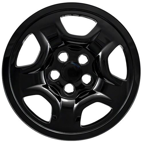 Black 2015 2016 2017 2018 2019 2020 Jeep Renegade Wheel Skin Covers Renegade wheel simulators