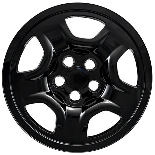 Black 2017 2018 2019 Jeep Compass Wheel Covers Skins Compass Wheel Simulators