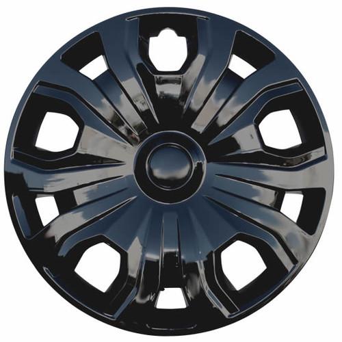 19' 20' Ford Transit Hubcap Steel 5 split spoke 16 inch Black Transit Hubcap