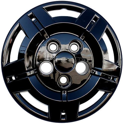 2014 2015 2016 2017 2018 2019 2020 2021 Dodge Ram ProMaster Black Hubcaps. New 16 inch Black Replica Bolt-on Hub Cap