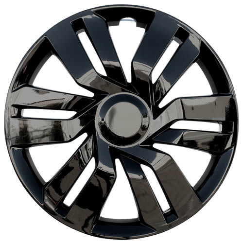 Black 2015 2016 2017 Honda Fit Wheel Cover New 15 inch Replica Fit Hub Cap