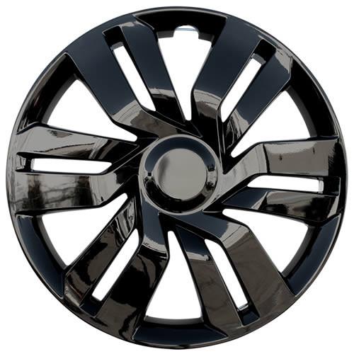 Black 2015 2016 2017 Honda Fit Wheel Cover New 15 inch Replica Fit Hub Cap