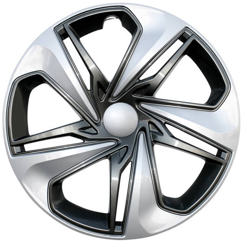 2019 2020 2021 Honda Civic hubcap. Replica 16 inch Civic wheel cover with a beautiful silver and charcoal accents finish.