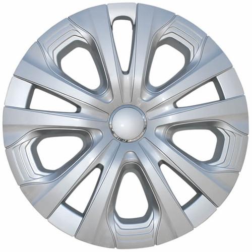 2019 2020 2021 Prius Hubcaps Silver Finish 15 inch Replica Toyota Prius Wheel Cover