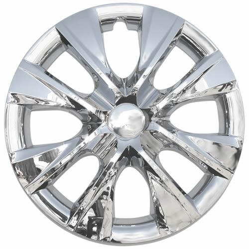 2014 2015 2016 2017 2018 2019 Corolla Hub Cap 15 inch Wheel Cover with a Beautiful Chrome finish.