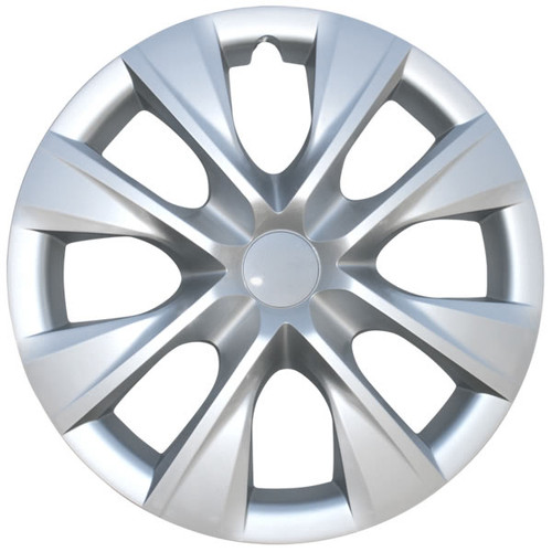 2014 2015 2016 2017 2018 2019 Corolla Hubcap 15 inch Wheel Cover with a Beautiful Silver finish.