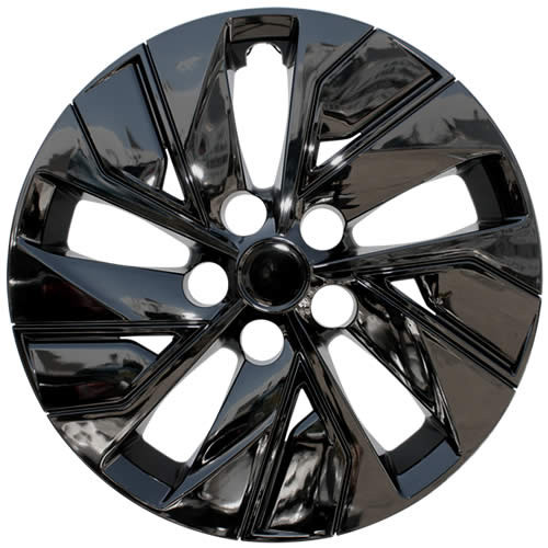 Brand New Black Finish 2019 2020 2021 Nissan Altima Wheel Covers Aftermarket Replica Direct replacement Altima Hubcaps.