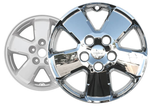 """Chrome Skins 2008 09 Ford Escape These are Chrome Hubcaps 4 16/"""" Set of Four"""