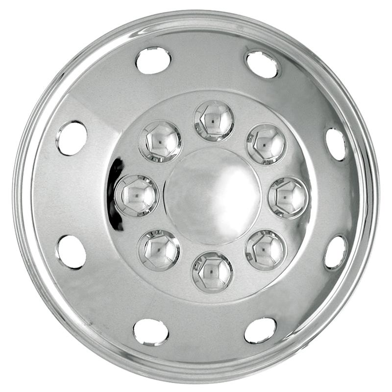 """Wheel Trims Van//Motorhome-15/"""" Chromed Van//Motorhome Wheelcover/'s"""
