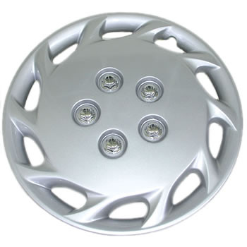 Genuine 1997 to 1999 Toyota Tercel 14 inch hubcaps wheel covers nice