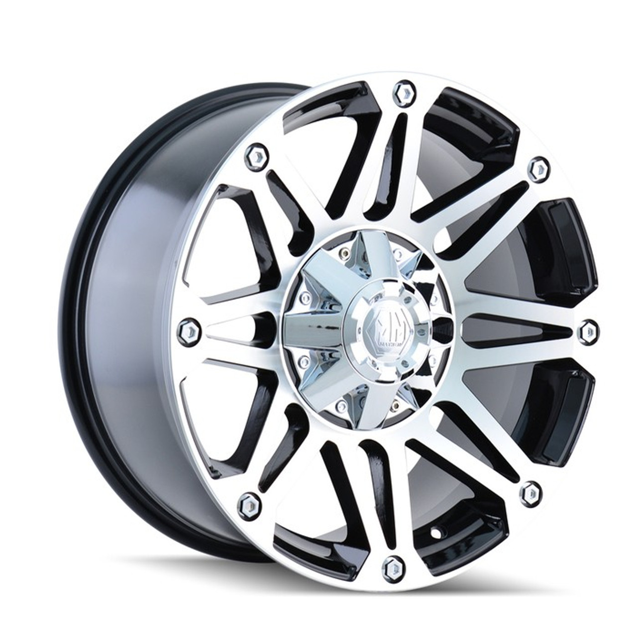 Pacer 166SB Nighthawk Satin Black 17x8.5 8x6.5-6mm 166SB-78581-06