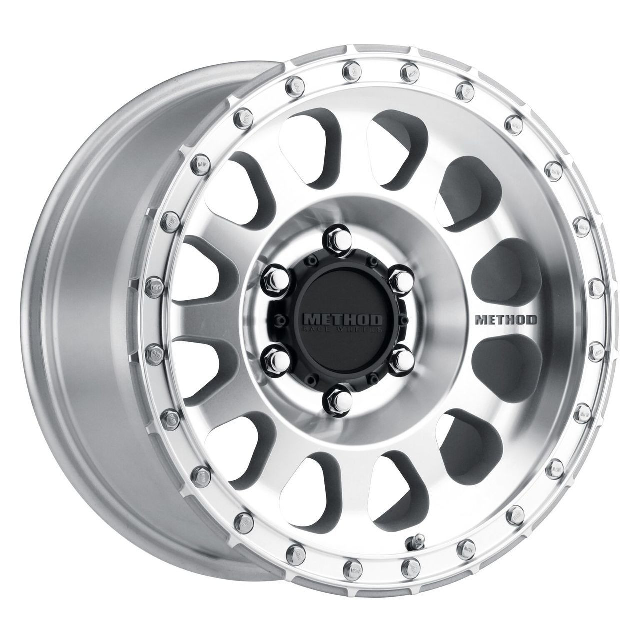 0 mm offset 16x8//6x5.5 Method Race Wheels The Standard Machined Wheel with Matte Clear Coat