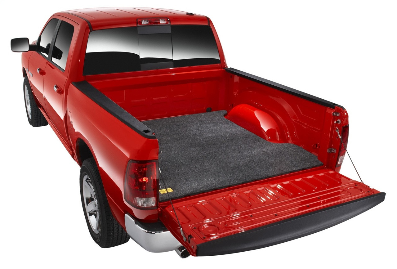 bedrug bmy05sbs floor truck bed mat 3 4 thick toyota tacoma bb wheels