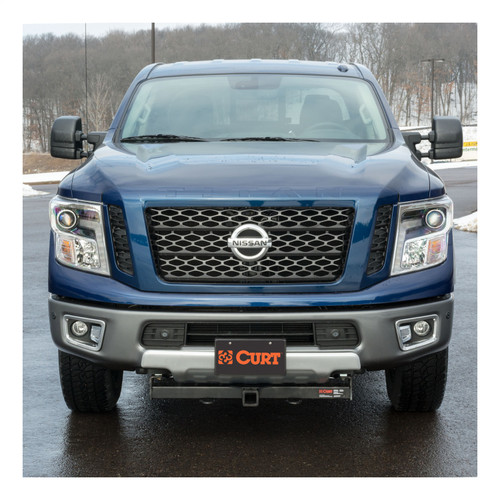 Select Nissan Titan XD CURT 31077 2-Inch Front Receiver Hitch