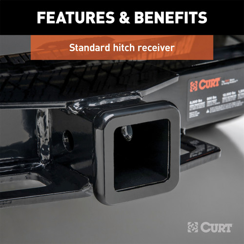 CURT 31033 Front Mount Receiver Hitch