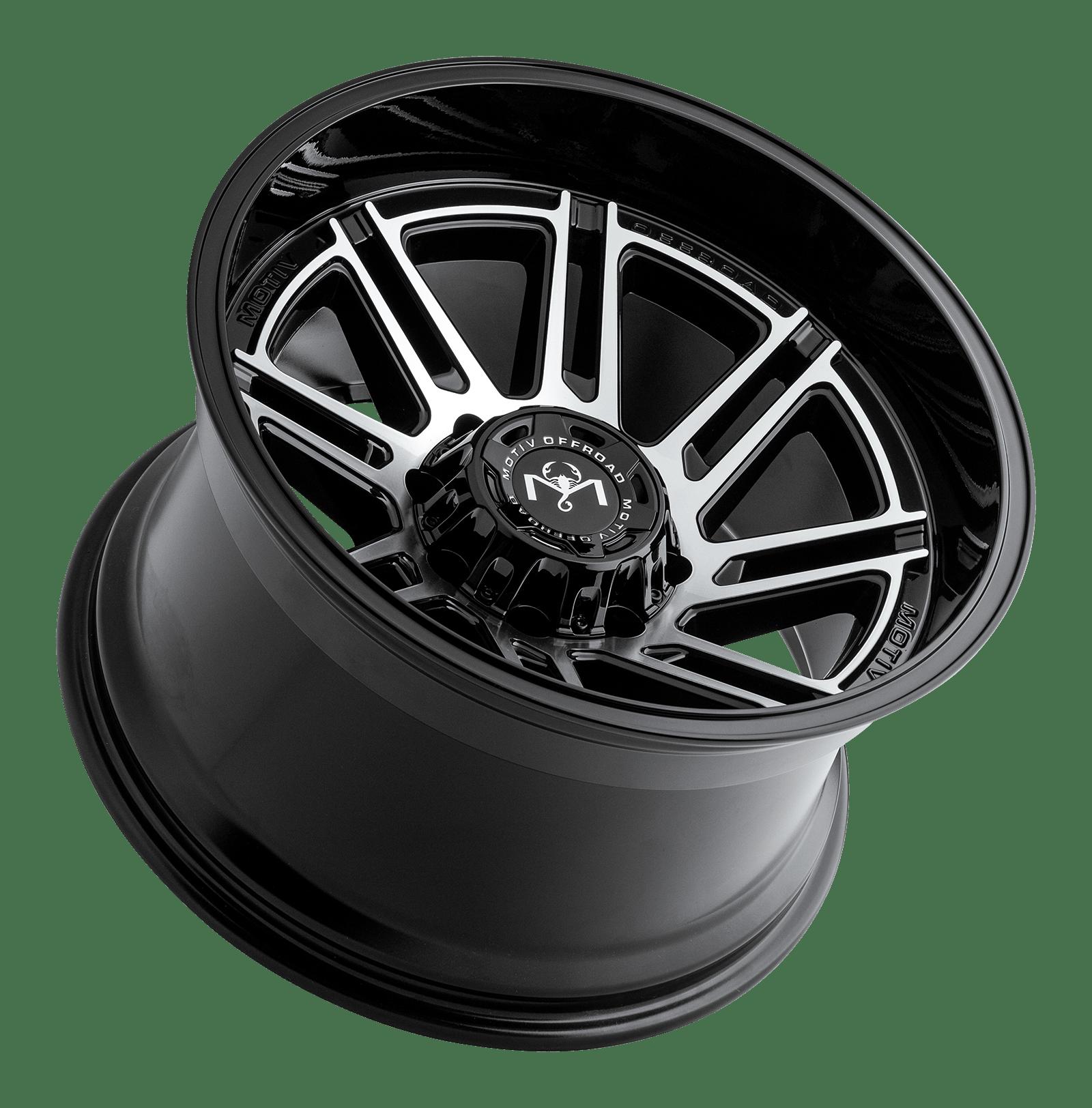 motiv wheels off road 425bm wheels rims gloss black milled
