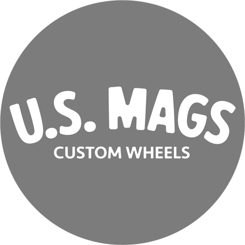 US Mags logo grayscale