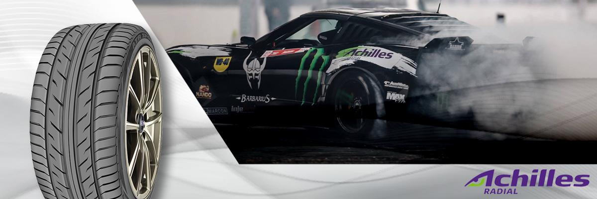 Achilles Tires Web Banner