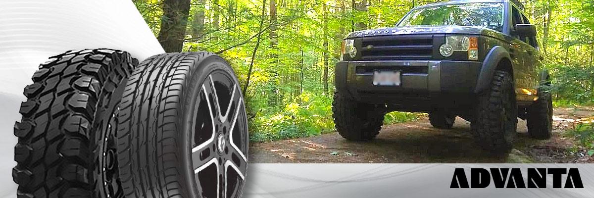 Advanta Tires Web Banner
