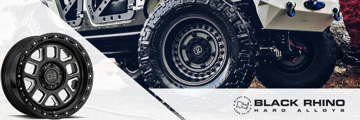 Black Rhino Hard Alloy Wheels Web Banner
