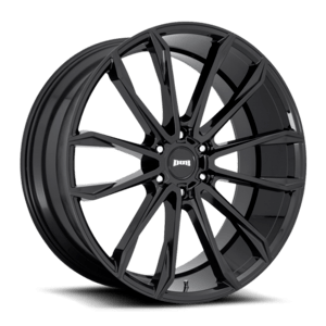 DUB Clout S253 Wheel / Rim in Gloss Black