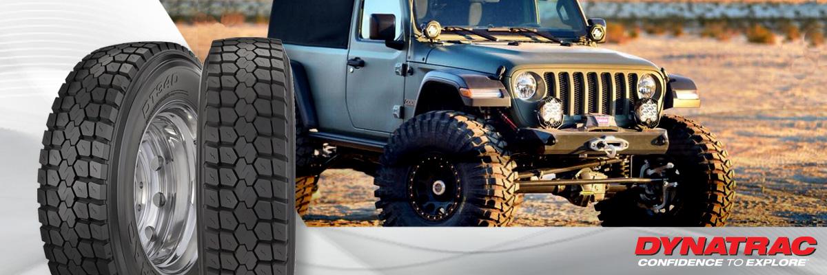 Dynatrac Tires Web Banner