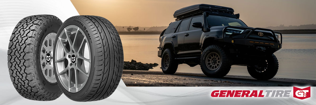 General Tire Tires Web Banner