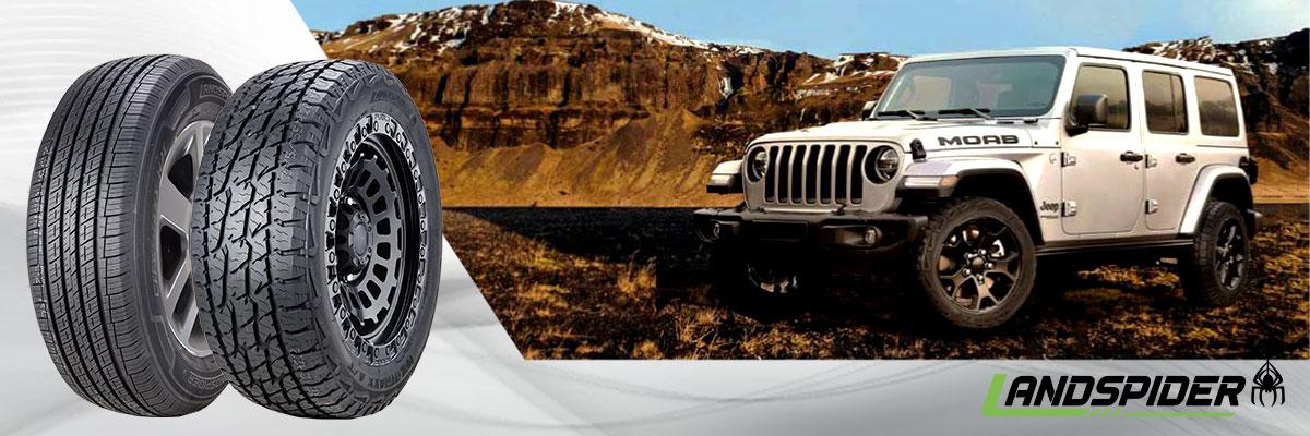 Landspider Tires Web Banner