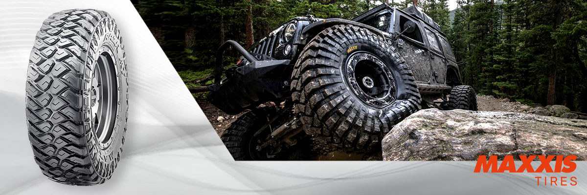 Maxxis Tires Web Banner