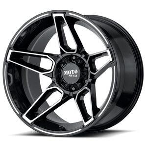 Moto Metal Fang MO994 Wheel / Rim in Gloss Black Machined